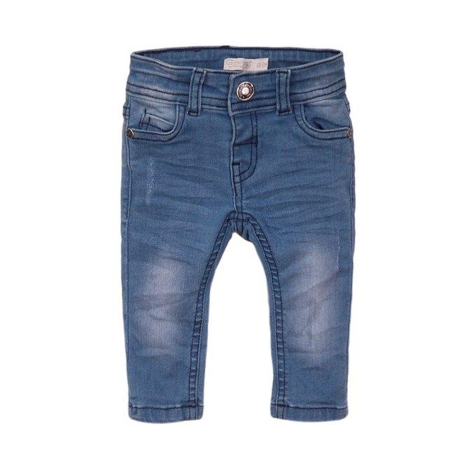 Dirkje boys jean s blue with vintage details