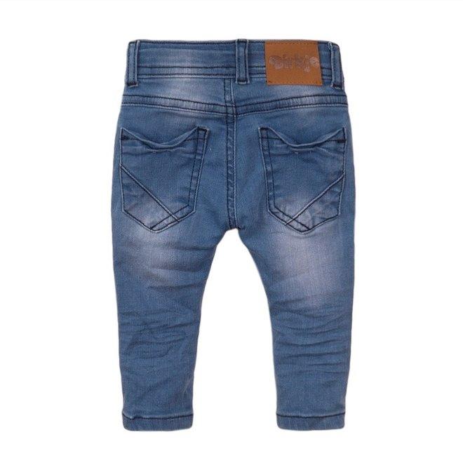 Dirkje jongens jeans blauw met 'vintage' details