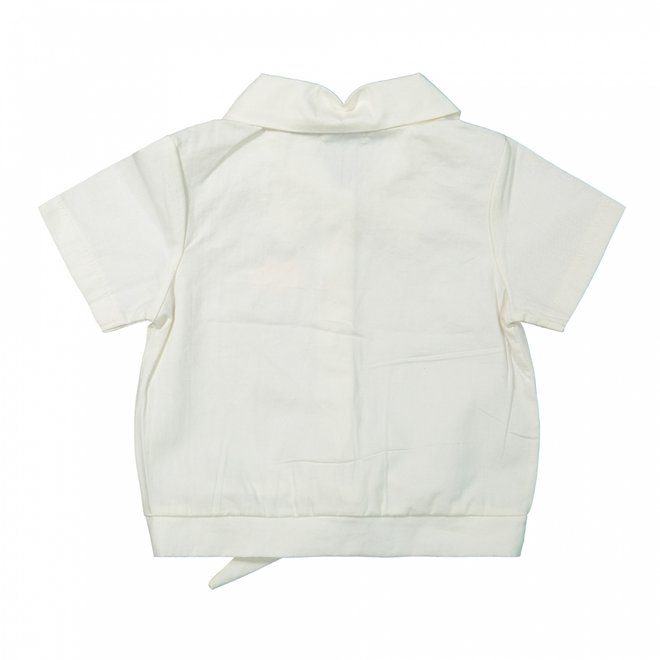 Dirkje girls blouse off-white