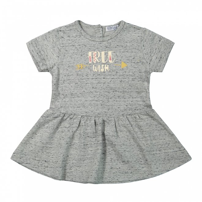 Dirkje Mädchen Baby Kleid blau Nahkampf