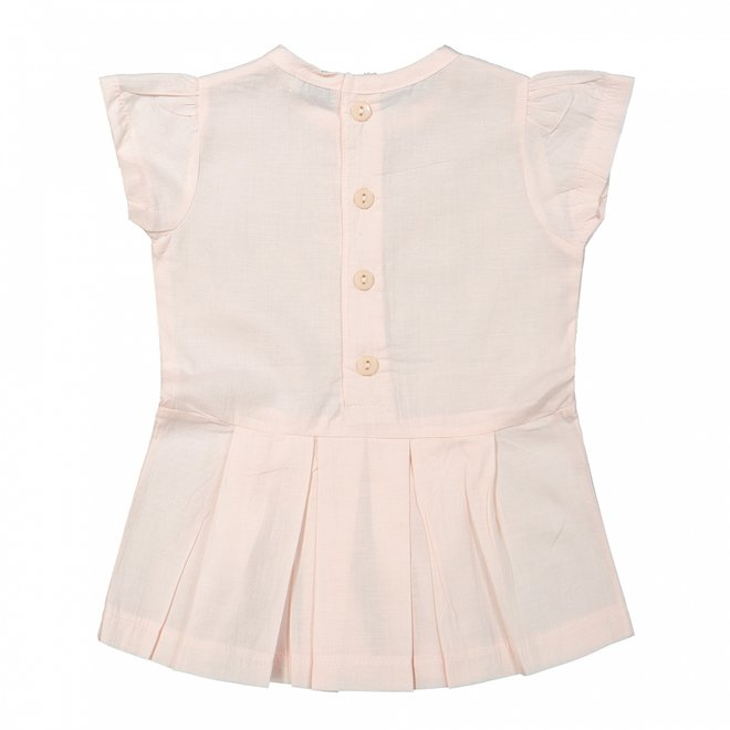 Dirkje girls baby dress light pink