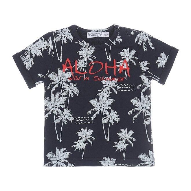 Dirkje jongens baby T-shirt navy