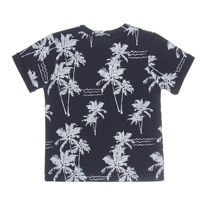 Dirkje Jungen Baby-T-Shirt navy