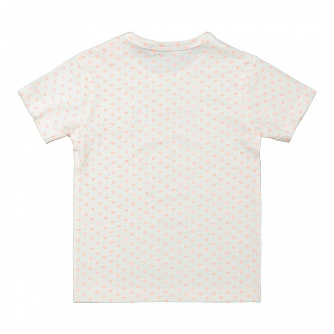 Dirkje girls baby T-shirt white