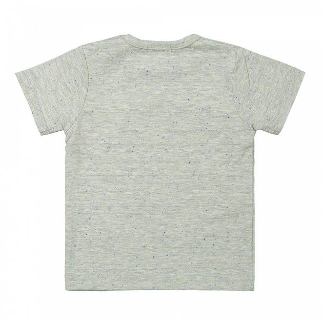 Dirkje boys baby T-shirt gray surf