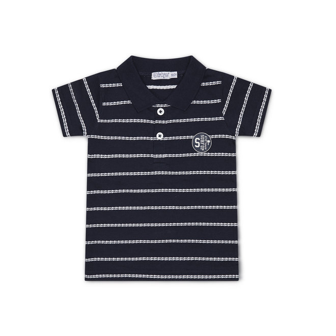 Dirkje boys polo shirt navy