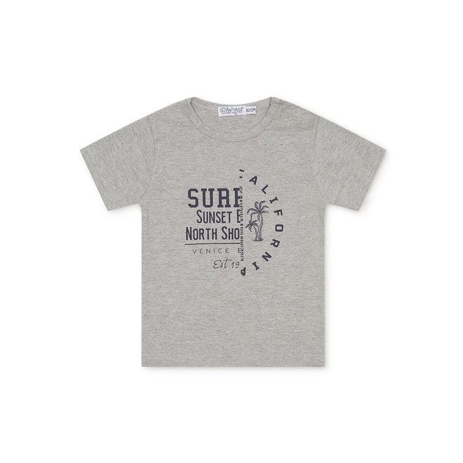 Dirkje boys baby T-shirt grey