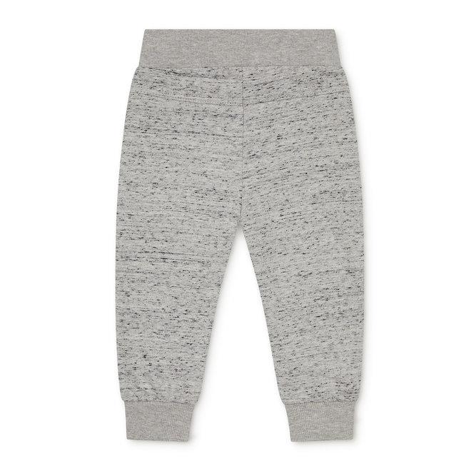 Dirkje boys baby jogging trousers light grey