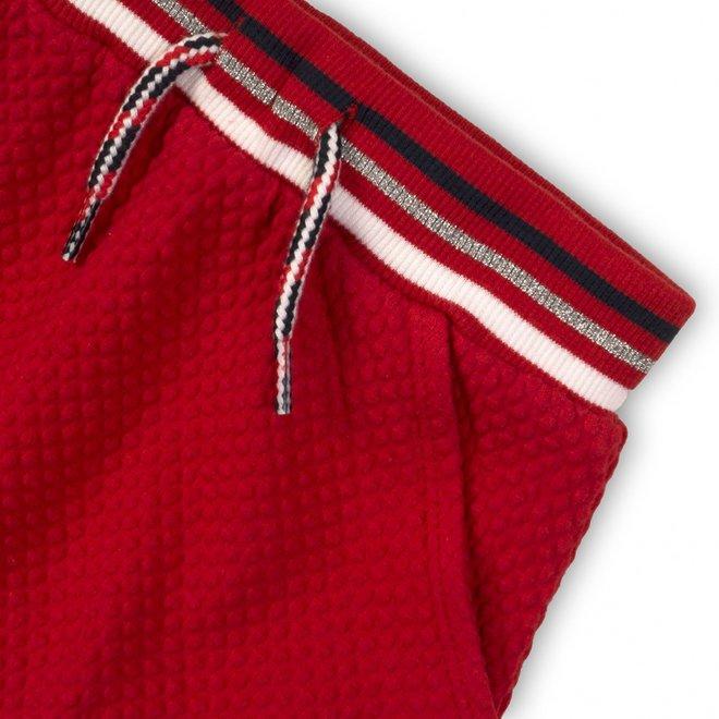 Dirkje girls skirt red with elastic band