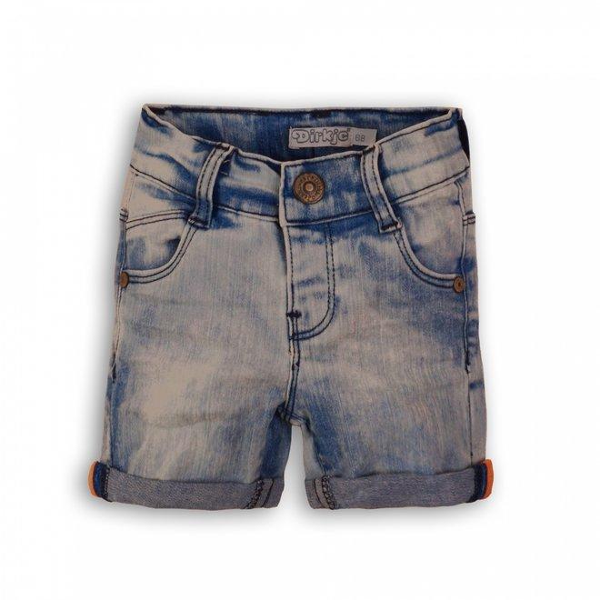 Dirkje boys jeans short light blue