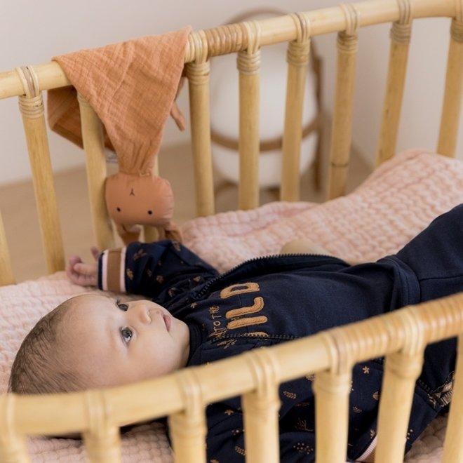 Dirkje Mädchen Baby Set Hose und Shirt dunkelblau