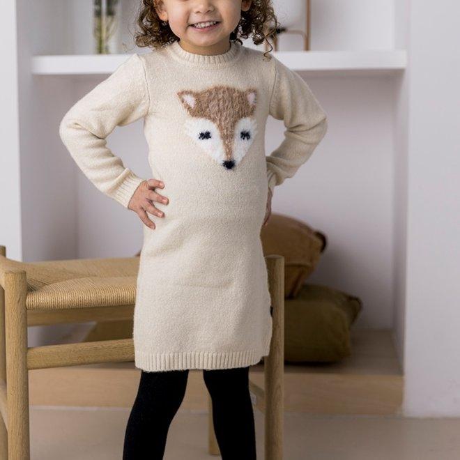 Dirkje Mädchen Kleid beige Fuchs
