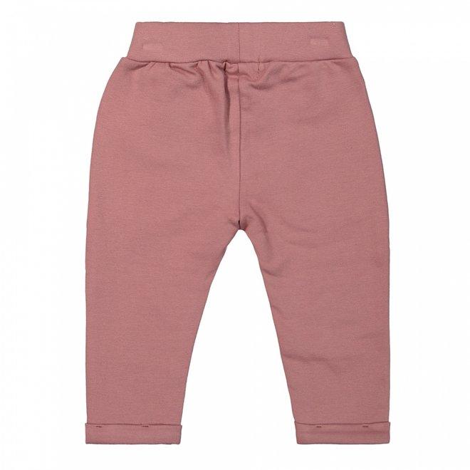 Dirkje meisjes broek roze strik
