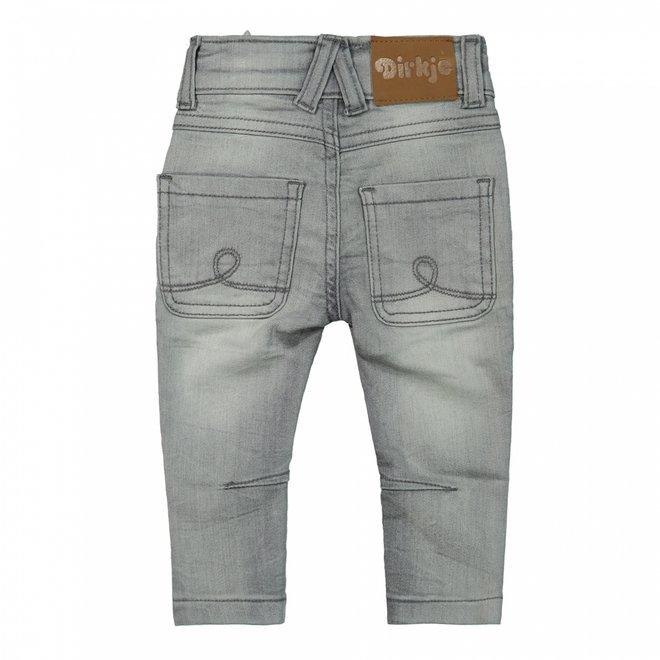 Dirkje Mädchen Jeans grau