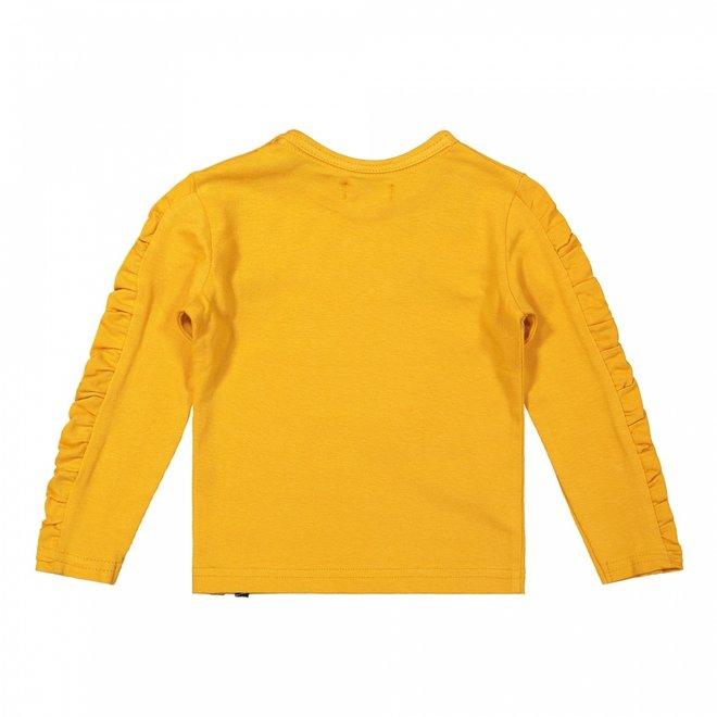 Dirkje Mädchen Shirt ockergelb