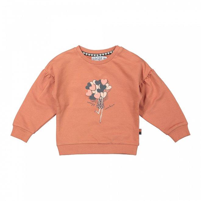Dirkje meisjes trui oudroze