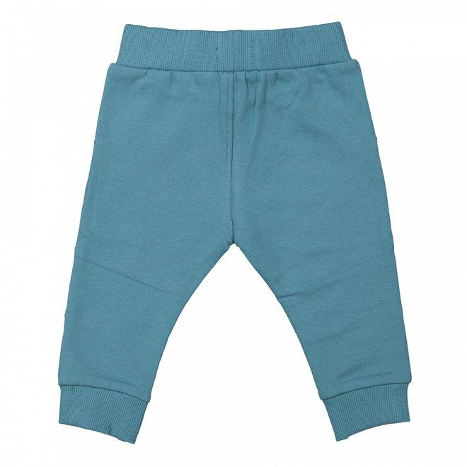 Dirkje jongens joggingbroek petrol blauw