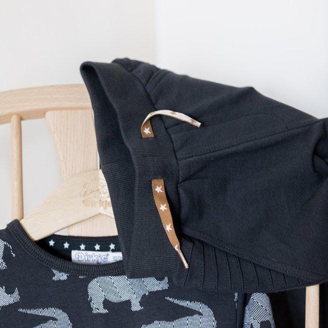 Dirkje Jungen Jogginghose dunkelgrau mit Taschen