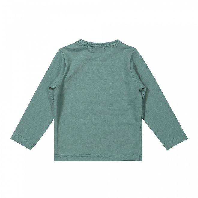 Dirkje Jungen Shirt Salbei grau grün