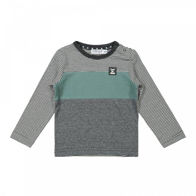 Dirkje jongens shirt grijs