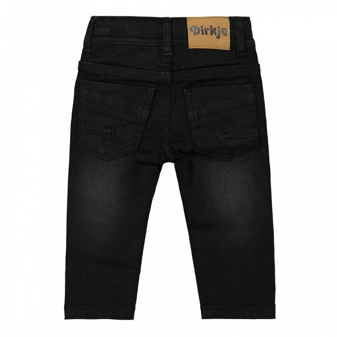 Dirkje jongens jeans zwart