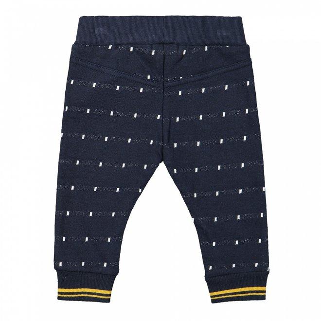 Dirkje boys jogging trousers dark blue white