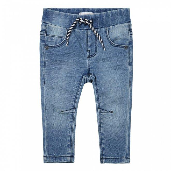 Dirkje Jungen gestrickte Jeans blau