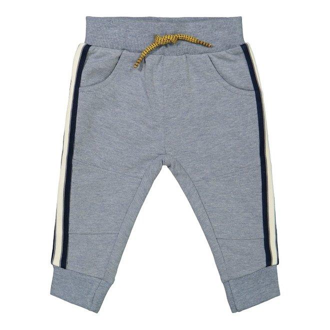 Dirkje boys jogging trousers light grey melange