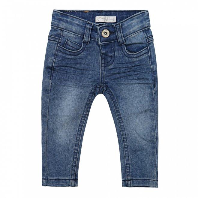 Dirkje jongens jeans mid blue