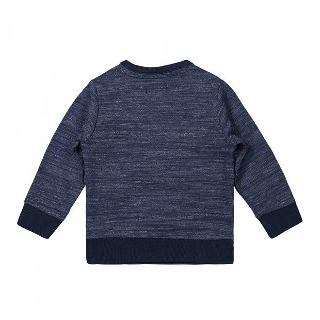 Dirkje jongens trui donkerblauw melee