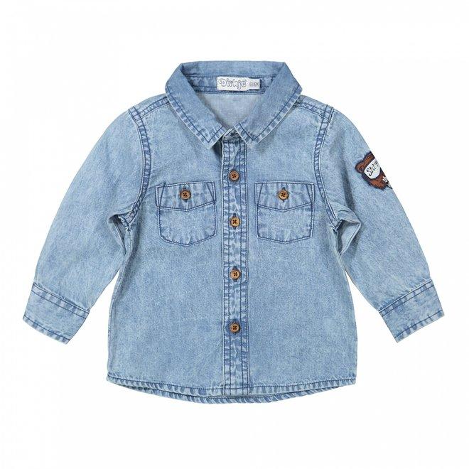Dirkje boys blue jeans blouse