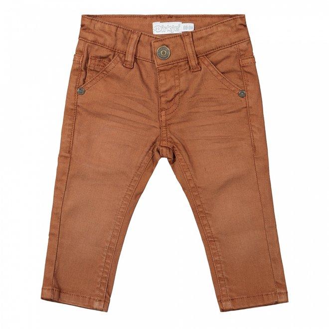 Dirkje boys jeans rust brown