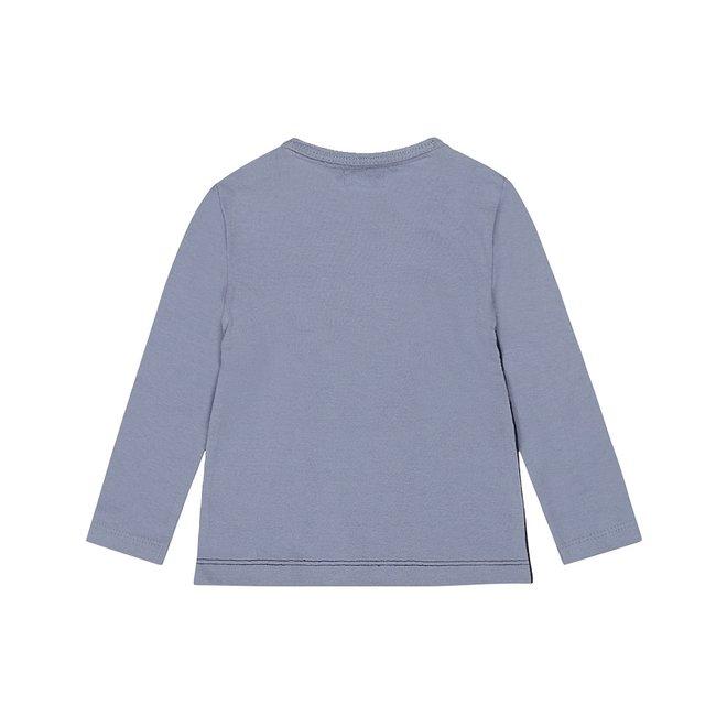 Dirkje boys shirt blue mountain