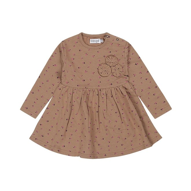 Dirkje meisjes jurk bruin