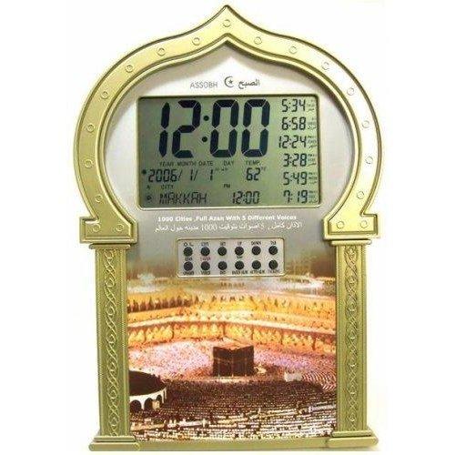 Azan Klok Moskee 1000 Steden