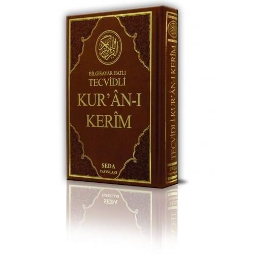 Tecvidli Kuran-i Kerim Bilgisayar Hatli Rahle Boy