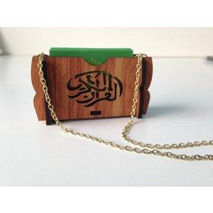 Houten Autohanger  Met Quran