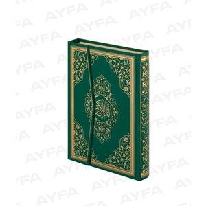 Arabische Koran Ayfa - Groen Maat XL