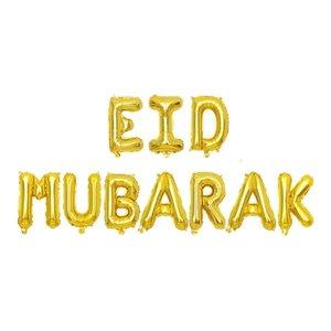 Eid Mubarak Ballonnen Set