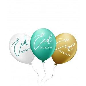 Eid Mubarak Ballonnen Mint groen