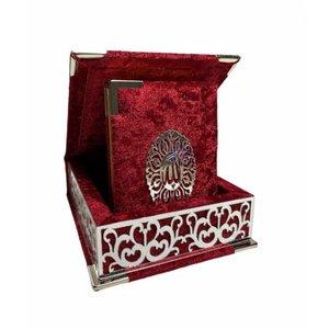 Luxury Koran in Box Red