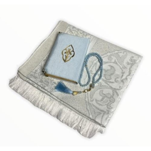 Koran Giftset Babyblauw