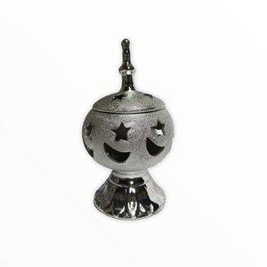 Zilveren Koep Bakhour Houder