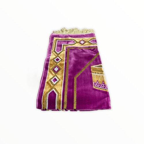 Gebedskleed - Kaba Motief Roze