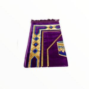 Prayer Dress - Kaba Motif Purple