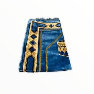 Prayer Dress - Kaba Motif Turquoise