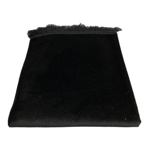 Prayer Black Velvet Dress