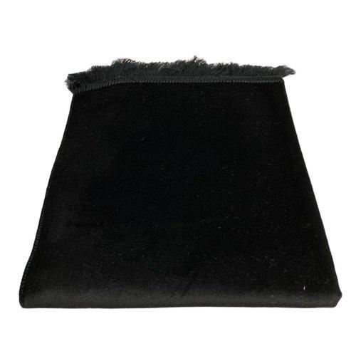 Fluwelen Gebedskleed Zwart