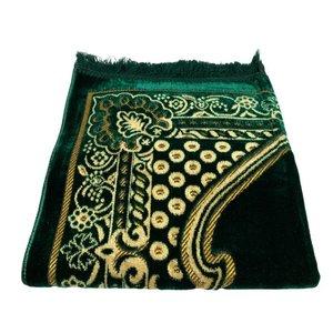 Prayer rug - Dark green with a motif