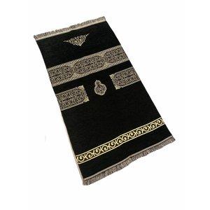 Gebedskleed Kaba Motief Zwart